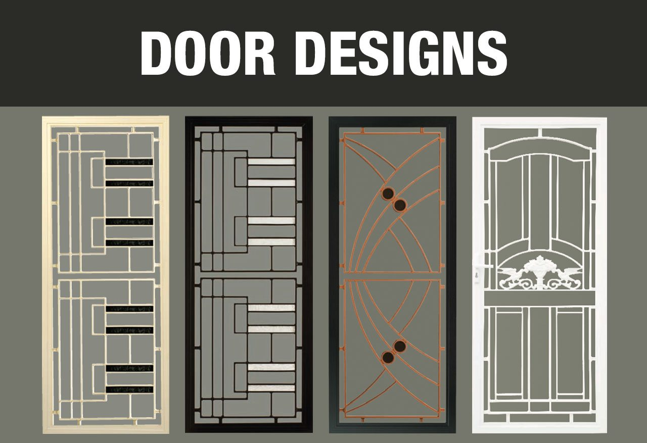 Security screen doors the safest security screen doors for New door design 2016