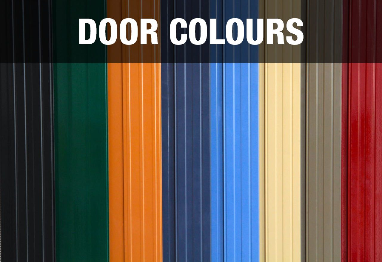 Security doors in colours to match your home