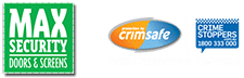Max Security only use Crimsafe Mesh in their security doos