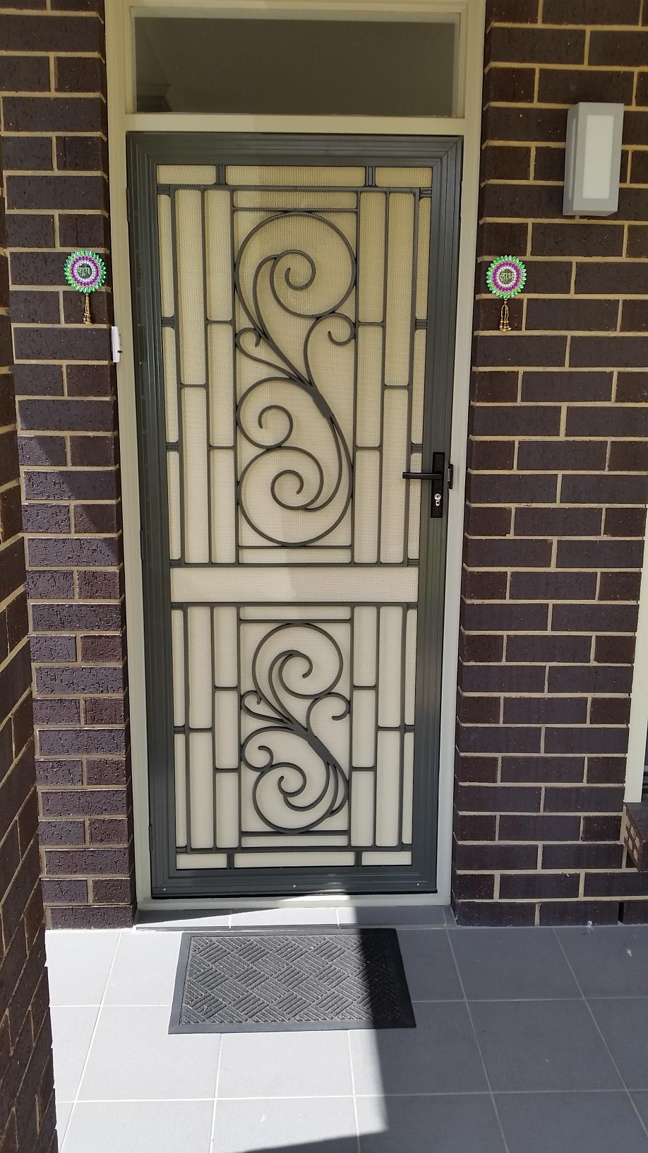 Security Door Installation Moana