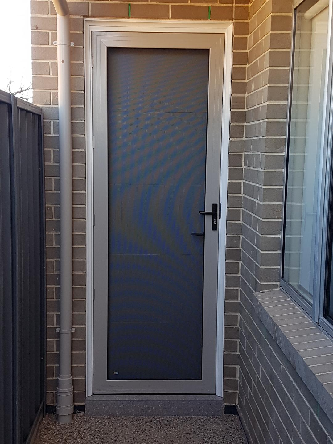 Security Door Installation Maslins