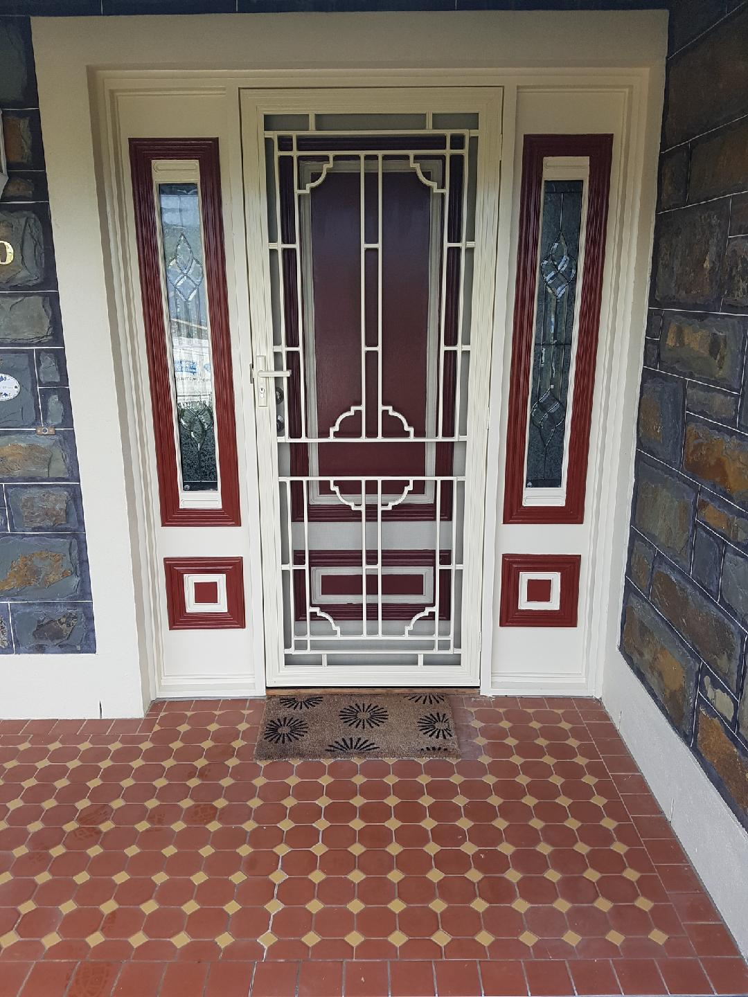 Crimsafe Security Door Adelaide Installation